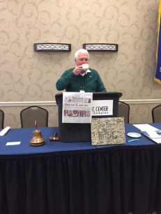 Golf Prize and Newspaper, coverage of the political forum, President Jerry
