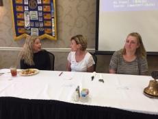 M8.Speaker Sabrina East, Lisa Bain, Cheryl Graham